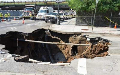 NGSS Informational Texts for Fourth Grade:  Stunning Sinkholes!
